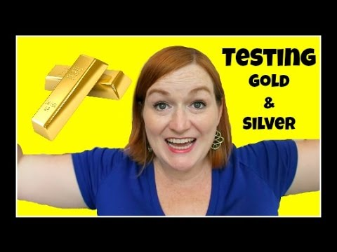 How To Test Gold And Silver Jewelry At