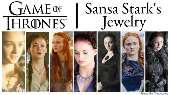 Game Of Thrones Jewelry Sansa Stark S Jewelry Evolution